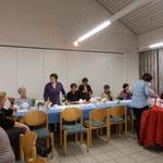 Brigitte Escher verabschiedet die LandFrauen  (Foto:DM)