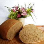 ein Brot nach Rezept der Rhadermühle (Foto: D.Mathes)