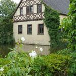 Ein Wirtschaftsgebäude, Schloss Ippenburg (Foto: Ellen Becker)