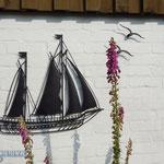 Schiffe nicht nur im Wasser, nein, auch an unseren Wänden.