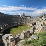 Amphitheatre of Xanthos. © Laura Tiemann