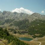 Het fantastische landschap van Bukumirsko Jezero.