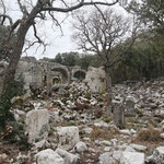 Ghostly atmosphere at Termessos. © Laura Tiemann