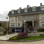 Ons fantastische hotel midden in de bergen.