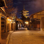 Gion district in the blue hour. © Laura Tiemann