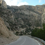 Route door de prachtige bergen van Karpathos