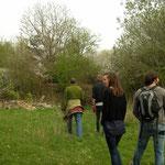 Rondleiding door de ecologische tuin.