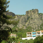 Meteora monastery along the way to Pindos.