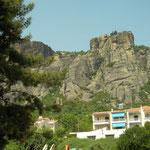 Meteora monastery along the way to Pindos.