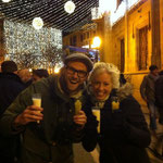 New Years Eve in Palma with the traditional 12 grapes and 49 con Leche.