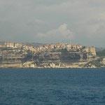 Kliffen van Bonifacio.