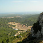 Uitzicht vanaf Monte Toro.