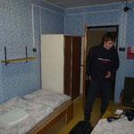 Tomáš in our five star hotel. © Joachim Nerz