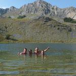 Elke dag zwemmen in Montenegro.