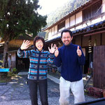 Saying goodbye to our fabulous hosts Masumi and Tetsuro.