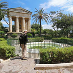 Lower Baracca Gardens in Valletta. © Laura Tiemann