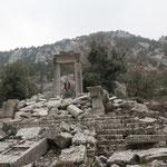 Hadrian's triumphal arch. © Laura Tiemann