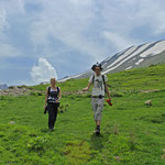 Laura and me coming down the slope. © Jeroen Speybroeck