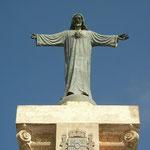 Jezus heet je welkom op de top.