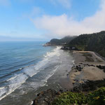 Heceta Head Lighthouse beach
