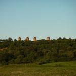 Oude windmolens