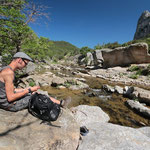Break at the gorge. © Laura Tiemann