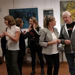 Dominique Steiger im Gespräch mit Künstler Heinz Fahrer