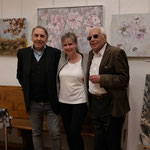 Das Dream-Team ist glücklich über die erfolgreiche Vernissage und die rege besuchte Ausstellung