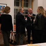 """Der Vorsteher des Justitz- und Sicherheitsdepartement, """"Baschi"""" Dürr besucht die Ausstellung"""