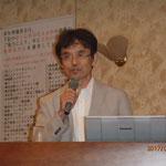 愛媛大学の森准教授による「熊本地震からの教訓」の講演