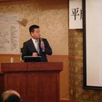 構営技術コンサルタント(株)の野中氏による「技術士具各体験談」の講演