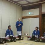 吉田副会長の乾杯の音頭