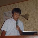 西川理事による「平成28年度現場見学会報告」の講演