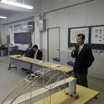 審査委員長の高知県橋梁会の右城猛会長による挨拶