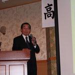 製品開発における失敗談「亜鉛と鉄」と題して講演される長谷川真道氏