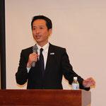 高野光二郎氏による「持続可能な国家づくり」の講演