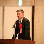 京都大学大学院の藤井教授による「超インフラ論~高知強靱化と四国新幹線が高知を救う」の講演