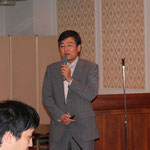 中日本高速道路(株)の宮内氏による「NEXCO中日本の橋梁技術の現状と課題」の講演