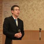 (株)ビーセーフの松嶋氏による「既設ストンガードの性能向上を実現したストロンガー工法」の講演