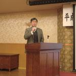 (株)ワイ・シー・イーの金子技術部長による「大型補強改良工事とその事例」の講演