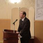 吉田副会長による閉会の挨拶
