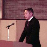 (株)SCジャパンの柳村氏による「移動昇降式足場 SCANCLIMBER」の講演