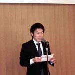 高野参議院議員の挨拶(向井秘書による代読)