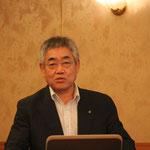 (公社)日本技術士会理事の加賀氏による「徳島に架かる橋いろいろな橋」の講演