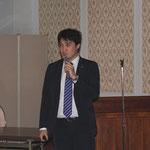 中日本高速技術マーケティング(株)の西岡氏による「NEXCO中日本の橋梁技術の現状と課題」の講演