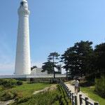 日御碕灯台の全景