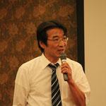 施工計画の効率化と精度の向上について講演をされる㈱エムティシーの梶川尚志氏