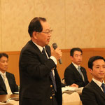 新しく理事に承認された濱田社長