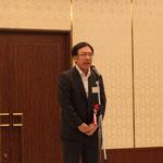 高知県商工労働部参事の栗山典久氏による「来賓挨拶」