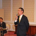 村田新理事による就任の挨拶